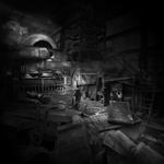 Colette Campbell-Jones: Destroyed Room, after W and D
