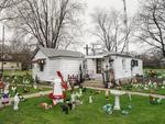 Dave Jordano: Yard Ornaments, Long Point, IL, 2007