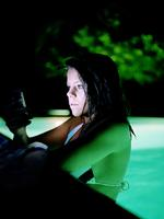 Evan Baden: Alicia with iPhone