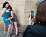 Frank Ward: Smart Phone Girls, Bishkek, Kyrgyzstan, 2012