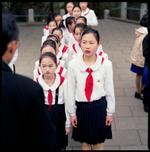 Hiroshi Watanabe: Students and Their Teacher, Mangyongdae, North Korea