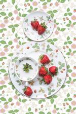 JP Terlizzi: Wedgwood Wild Strawberry with Strawberry, 2019