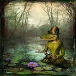 Maggie Taylor: Alligator woman, 2014