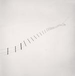 Michael Kenna: Hillside Fence, Study 4, Teshikaga, Hokkaido, Japan, 2002