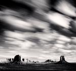 Michael Kenna: Morning Clouds, Monument Valley, Utah, USA, 2005