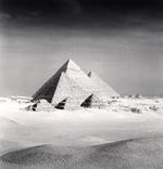 Michael Kenna: Giza Pyramids, Study 6, Cairo, Egypt, 2009