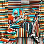 Patty Carroll: Striped Books