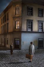 Richard Tuschman: Couple In The Street