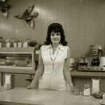 Steve Fitch: Truckstop waitress, Highway 66, Gallup, New Mexico, 1972
