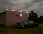 Steve Fitch: Blue Swallow Motel, Highway 66, Tucumcari, New Mexico; July, 1990