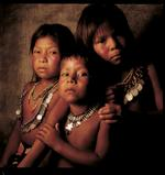 William Coupon: 3 Choco Kids, Wichi-Wab, Panama, 1992