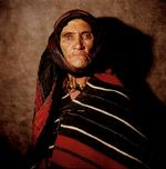 William Coupon: Moroccan Berber Eyes, Tamtatouchte, Morocco, 1982